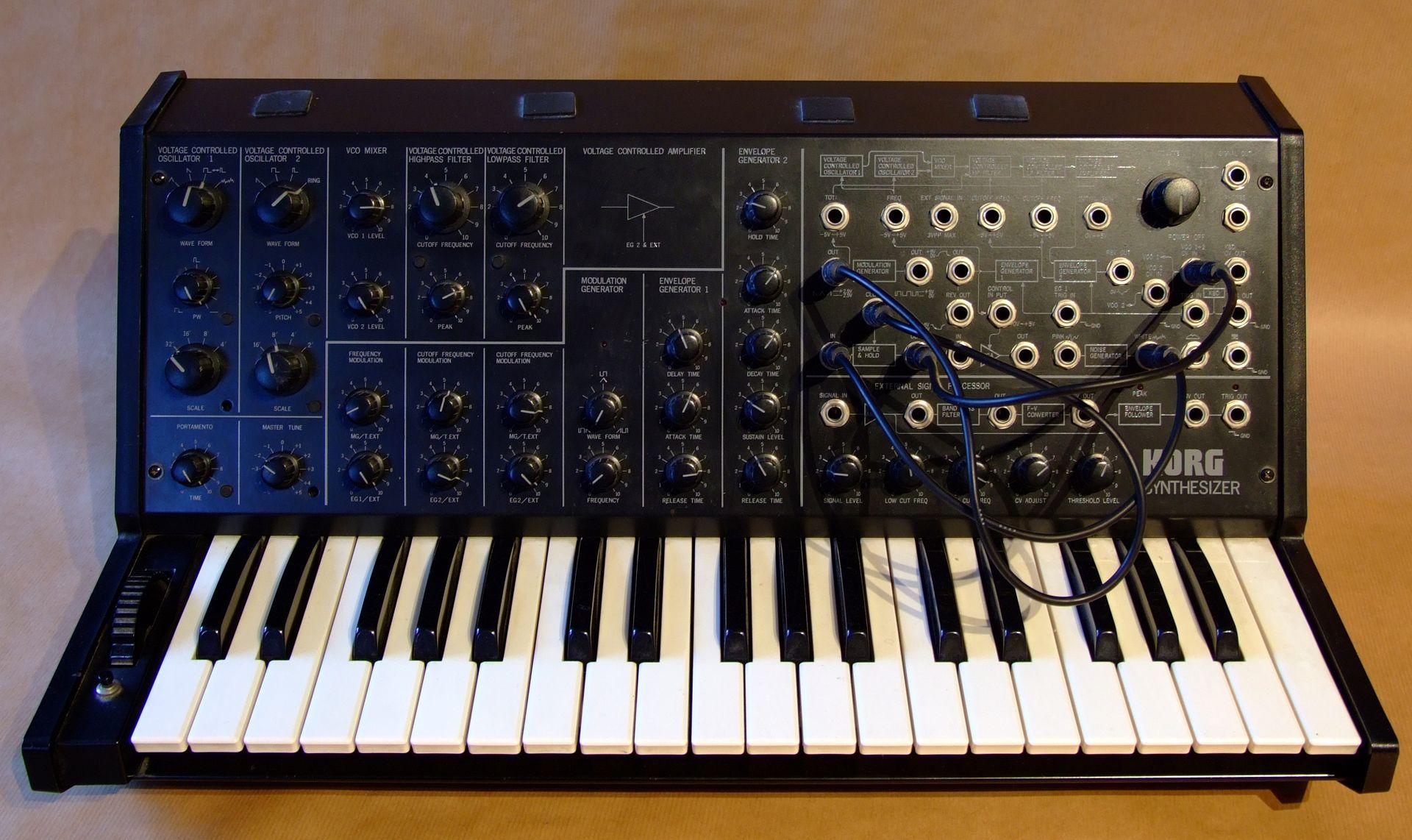 Korg MS-20 Hardware-Synthesizer