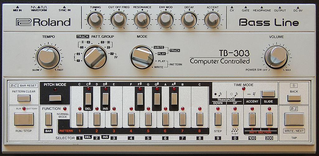 Roland TB-303 Hardware-Synthesizer