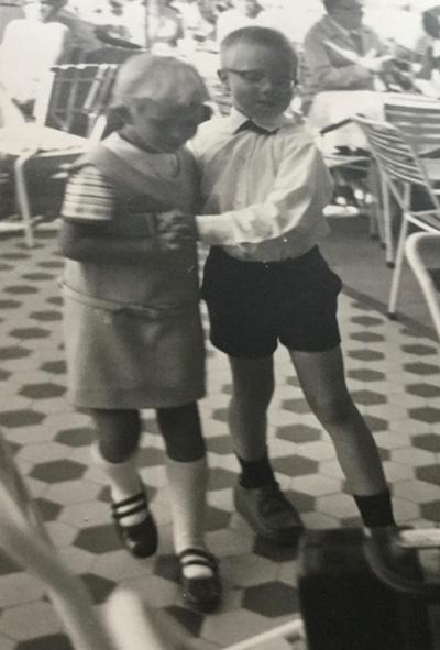 Lindy Hop als Kind